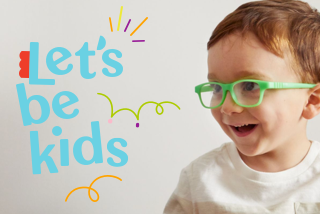 Lets Be Kids promo banner