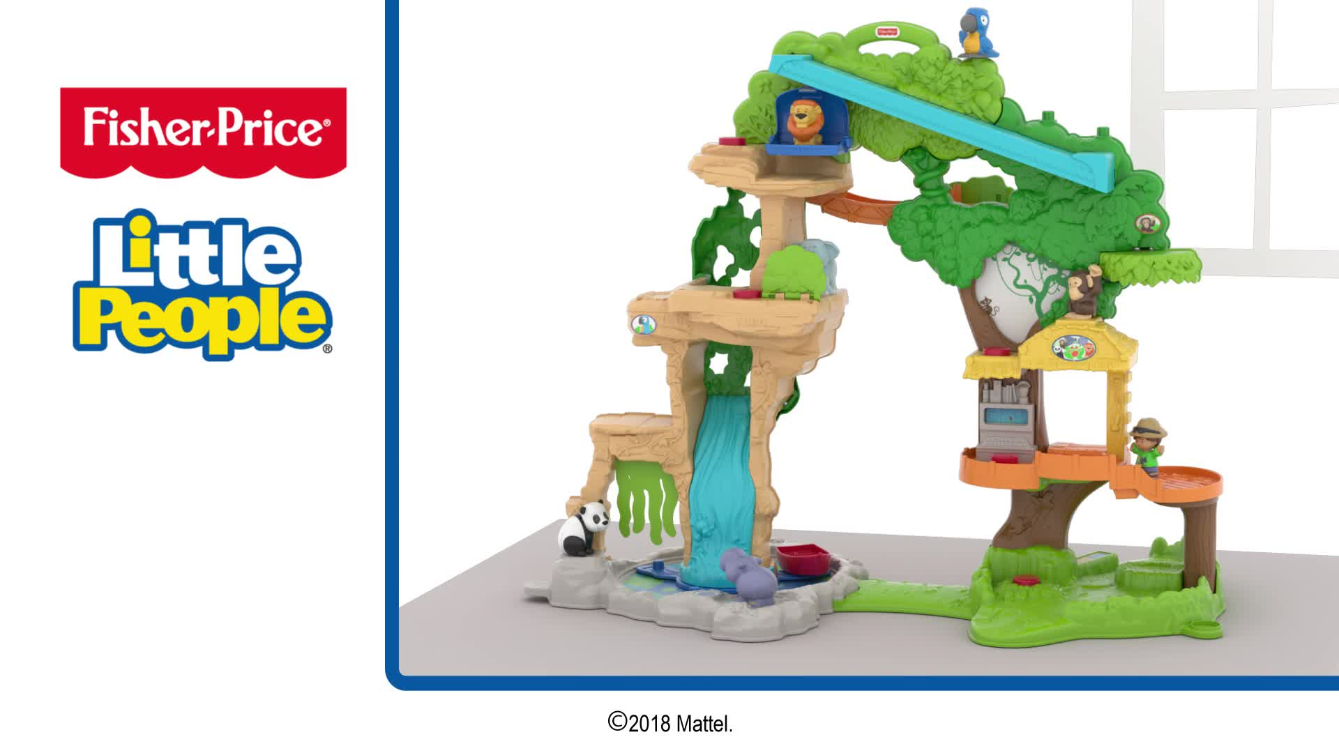 Little People® Share & Care Safari™ Playset Assembly