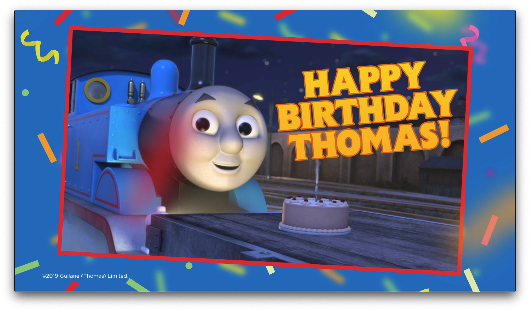 Thomas & Friends 75th Birthday