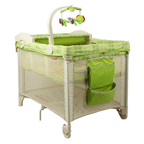 fisher price 3 in 1 deluxe travel cot rainforest. Black Bedroom Furniture Sets. Home Design Ideas