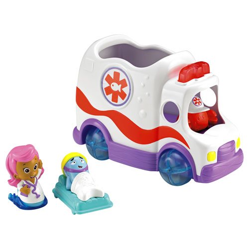 Fisher Price Toddler Bed Bubble Guppies™ Clambulance