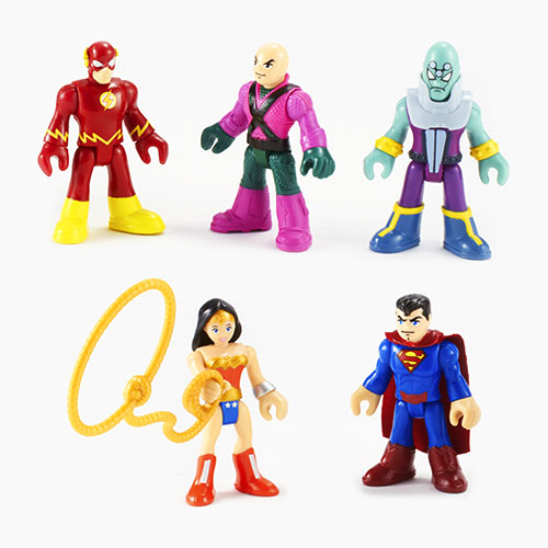 Imaginext® DC Super Friends™ Surtido de figuras Héroes y Villanos