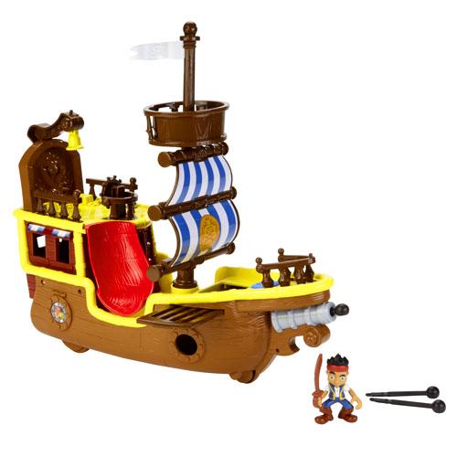 Barco Pirata De Bucky Jake Y Los Piratas De Nunca Jam S Fisher Price
