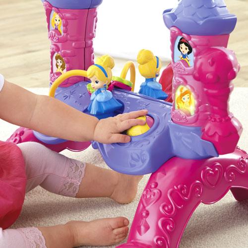 Disney princesa espejo musical de princesa por fisher price for Espejo retrovisor bebe fisher price