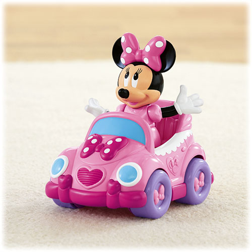 Fisher Price Disney Baby Minnie Mouse  In  Push Car