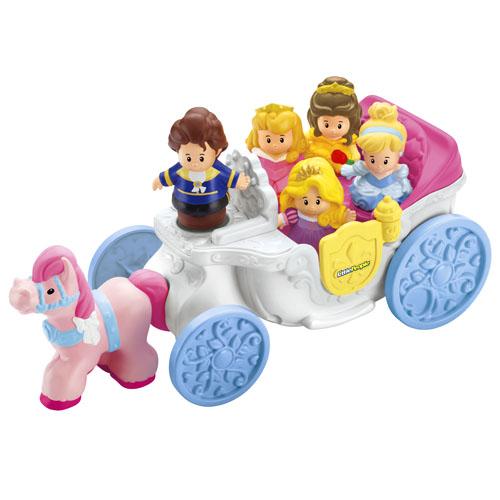 little people174 � carrosse royal princesses disney