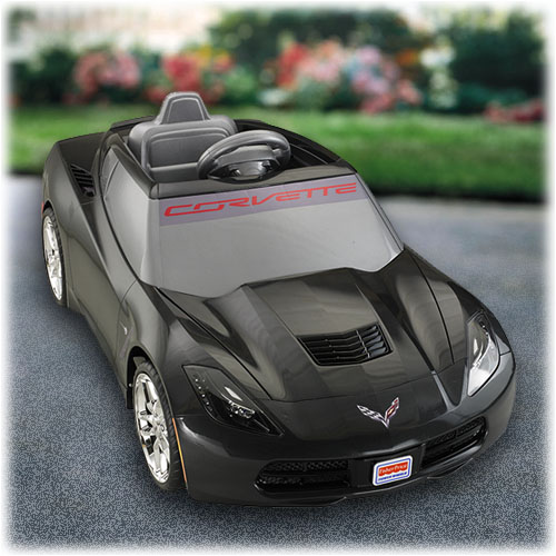 power wheels deluxe corvette black shop power wheels ride on cars. Cars Review. Best American Auto & Cars Review