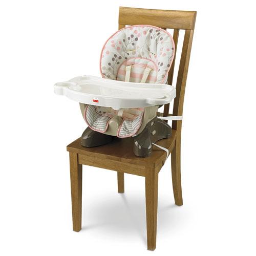 SpaceSaver High Chair-Berry