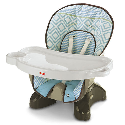 fisher price spacesaver high chair – teal tempo high chairs bjx68