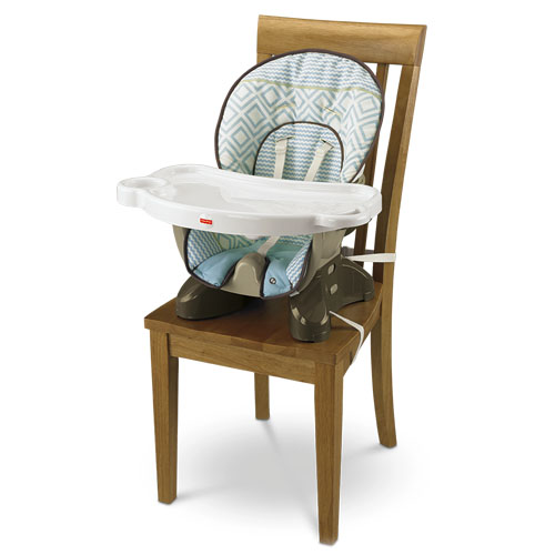SpaceSaver High Chair Teal Tempo