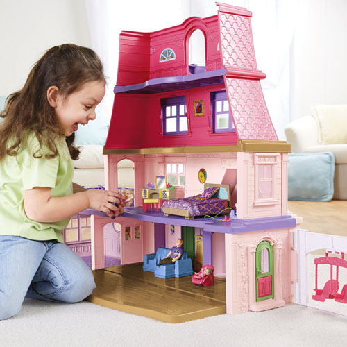 Add The Parents Bedroom To The Loving Family Grand Dollhouse Sold Separately