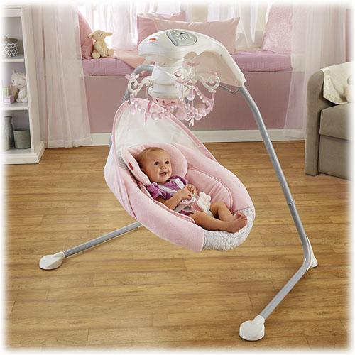 fisher price pearl chandelier cradle n swing manual