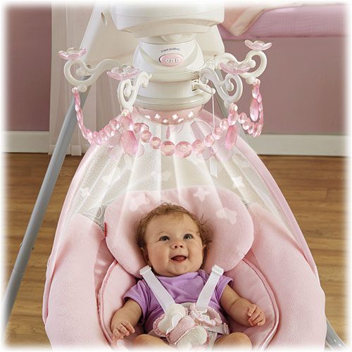 Rose Chandelier Cradle N Swing