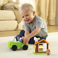 Little People® Farm Truck & Coop