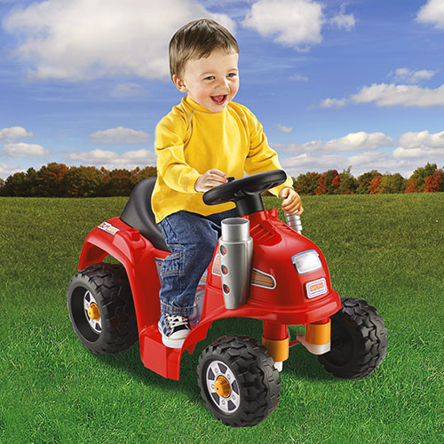 Power Wheels Ride On Tractor : Power wheels lawn tractor shop ride on