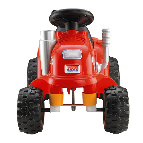 Power Wheels Ride On Tractor : Power wheels lawn tractor cbx fisher price