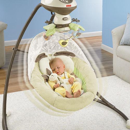 berceau balancelle mon petit lapin avec technologie smartswing. Black Bedroom Furniture Sets. Home Design Ideas