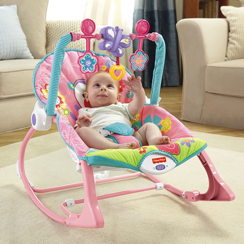 Silla mecedora crece conmigo for Silla fisher price