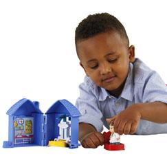 Little People 174 Fold N Go Bakery Shop Little People