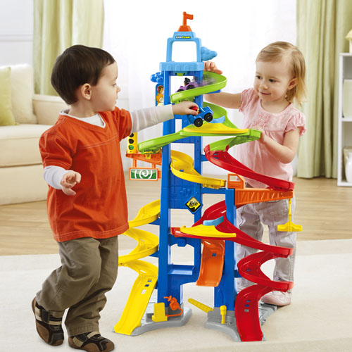 Fisher Price City Skyway Extra Cars