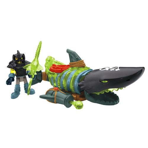 Shark Boat Toy : Imaginext shark boat shop kids toys fisher