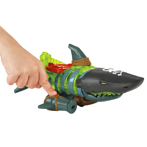 Shark Toys For Boys With Boats : Imaginext shark boat shop kids toys fisher