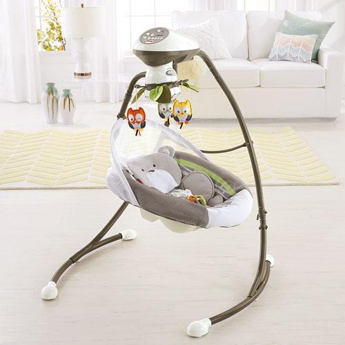 Swing Snugabunny New Fisher Price Snugabunny Cradle N