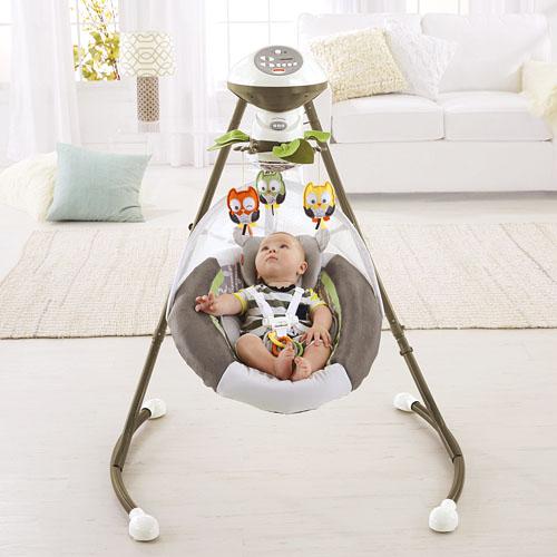 My Little Snugabear Cradle N Swing