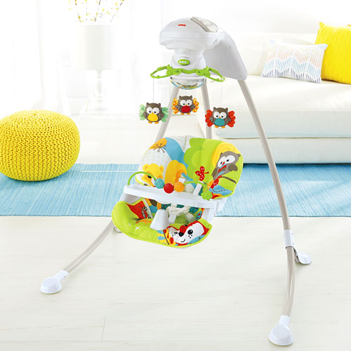 fisher price woodland friends cradle 'n swing 2