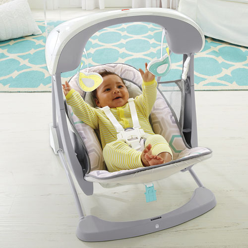 Deluxe Take Along Swing Amp Seat Saturn Snuggle