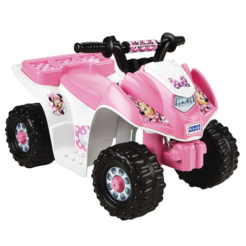 Minnie mouse power wheels car for Fisher price motorized cars