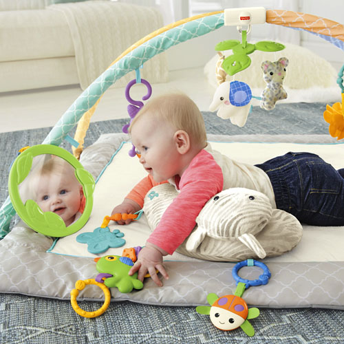 Fisher price rainforest melodies lights deluxe gym html - Tapis d eveil fisher price zoo deluxe ...