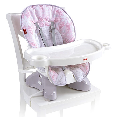 0e3c0d04e53 Fisher Price SpaceSaver High Chair - Light Pink High Chairs CLR39 ...