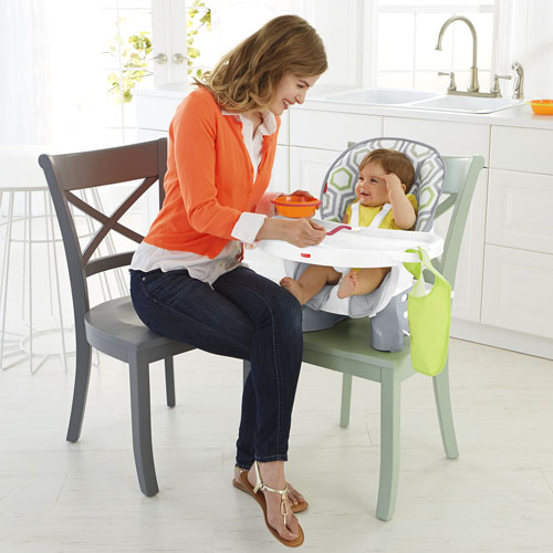 SpaceSaver High Chair - Geo Meadow