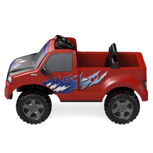 power wheels ford lil 39 f 150 shop power wheels ride on cars trucks fisher price. Black Bedroom Furniture Sets. Home Design Ideas