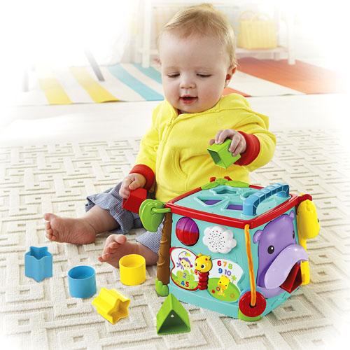 Cubo juega y aprende - Juguetes para ninos 10 meses ...