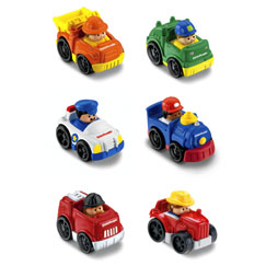 Little People Wheelies Vehicles Gift Set #1 - Fisher-Price Online Toy Store