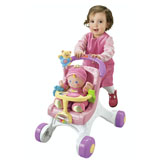 Brilliant Basics™ Baby's 1st Doll & Stroll-Along Walker Gift Set