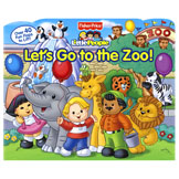 Little People Let's Go to The Zoo Lift-the-Flap Board Book