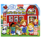 Little People Let's Go to The Farm Lift-the-Flap Board Book