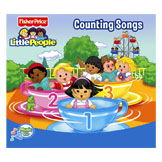 Little People Counting Songs CD by Mood Entertainment