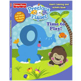 Precious Planet Time to Play! Giant Coloring & Activity Book