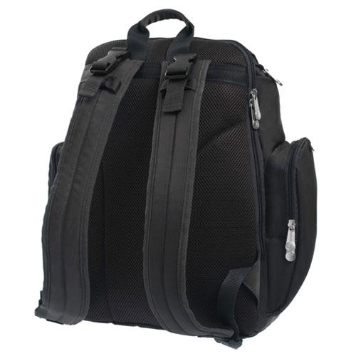 fisher price 13 pockets dad 39 s diaper bag backpack brown brand new ebay. Black Bedroom Furniture Sets. Home Design Ideas