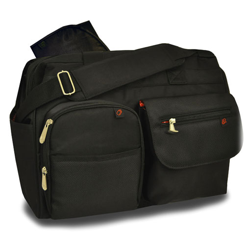 Deluxe Wide Opening Diaper Bag with the FastFinder™ Pocket System (