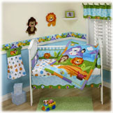 Precious Planet 4 Piece Crib Set