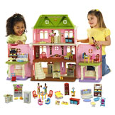 Loving Family™ Grand Dollhouse Gift Set (African-American Family) Buy Gift Set & Save!