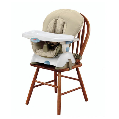 Fisher price space saver high chair curious mommy for canadian families - High chair for small spaces image ...