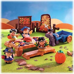 Little People Thanksgiving Celebration - Fisher Price Online Toy Store