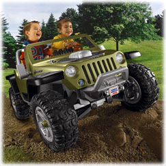 Power Wheels® Jeep ® Hurricane with Monster Traction™ (Green)