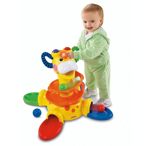 Go Baby Go™ Sit-to-Stand Giraffe